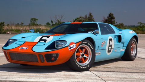 Joao Botelho De Sousa took sixth place in the Kyalami '79 GT40 @ Race2Play.com