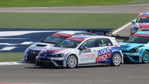 Joao Beato finished third place in the Longbeach TCR @ Race2Play.com