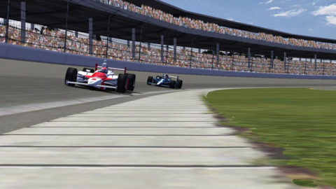 Mario Rocha held the lead for a lap in a run to 13th place in the Indianapolis Motor Speedway @ Race2Play.com