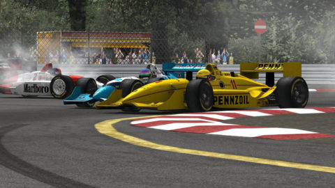 Mario Rocha won ninth place in the Indianapolis 250 @ Race2Playcom