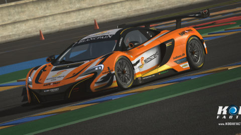 Atlantic Motorsport presents the new SimCraft McLaren 650S GT3 – Mario Rocha