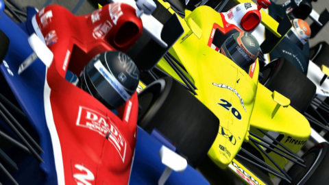 Andy Graydon held off Conor McCarrell at the finish line by the razor-thin margin of 0.281 seconds to take first place in the Atlantic Racing Indianapolis 500k @ Race2Play.com