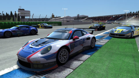 Mario Rocha took ninth place in the Koda Factory Hockenheim GP EGT @ Race2Play.com