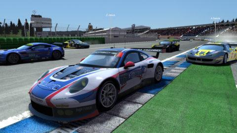 Mario Rocha took ninth place in the Koda Factory Hockenheim GP EGT @ Race2Play.com