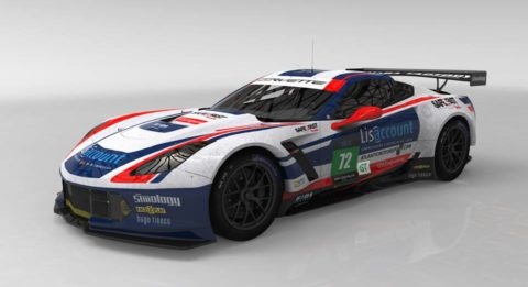 Lisaccount Corvette C7 GTLM finished P6 in the 8 hours of Silverstone – Virtual Endurance Championship – Season 9 – Race 3