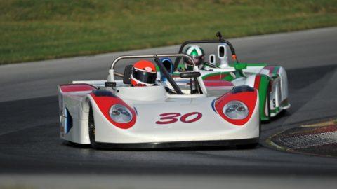 Csaba Lakó took fourth place in the Cadwell Park Sports 2000 @ Race2Play.com