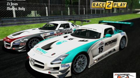 Mario Rocha took 13th place in the Brianza GP FIA GT3 @ Race2Play.com