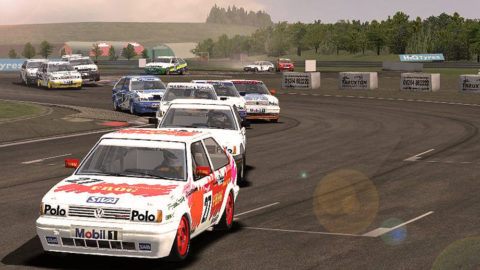 Rocha races VW Polo G40 '91 in Thruxton Polo91 // Events // Race2Play Multiplayer Online Racing