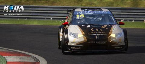 Atlantic Motorsport presents the new G´s Competizione Honda Civic #18 – Tiago Monteiro