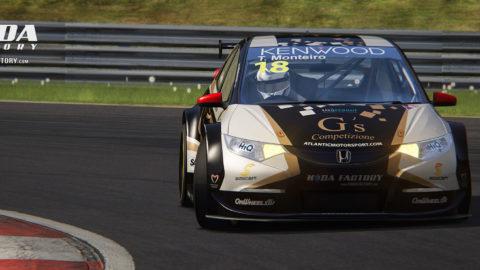 Atlantic Motorsport G´s Competizione Honda Civic #18 – Tiago Monteiro