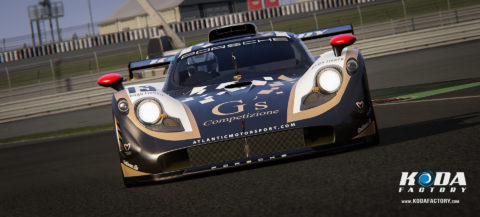 Atlantic Motorsport presents the new G´s Competizione Porsche 911 GT1