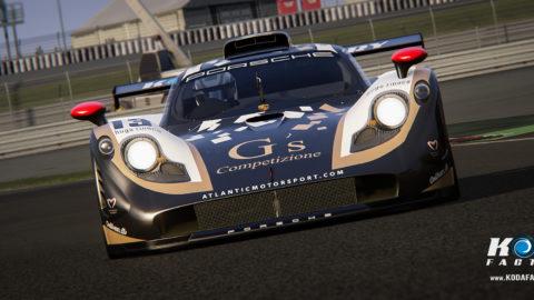 Atlantic Motorsport presents the new G´s Competizione Porsche 911 GT1