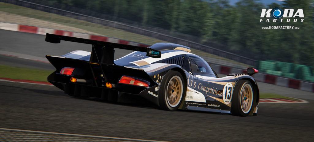 Atlantic Motorsport G´s Competizione Porsche 911 GT1