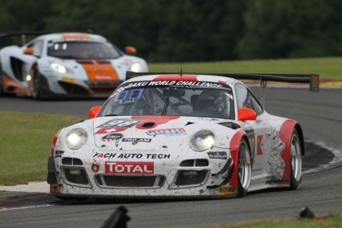 Nuno Gaiteira captured ninth place in the Spa BlancPain @ Race2Play.com