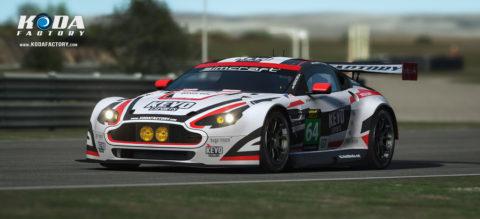 Kevo eSports Atlantic Motorsport Aston Martin for the VLMS Championship