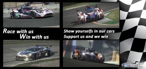 Race and Win with us Program – Atlantic Motorsport is looking for partners/sponsors for his team and League
