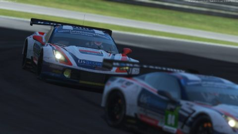Atlantic Motorsport won the Team Tittle at Campeonato GT- Series by Simracing Perú