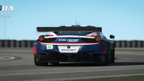 Marcelo Aiello took sixth place in the WEGTE class in Round 3 of the 2016 World Endurance Championship series with a Ferrari 458 GTE in Le Mans '04 Multiclass // Race2Play