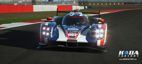Atlantic Motorsport Porsche 919 #002 for the VEC Championship 2017 / 2018