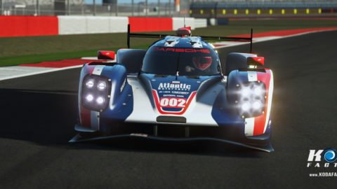 Atlantic Motorsport Porsche 919 #002 for the VEC Championship 2017 / 2018