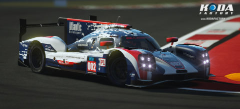 Atlantic Motorsport Porsche 919 #002 finished P8 in the 8 hours of Suzuka