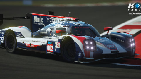 Atlantic Motorsport finished P2 in the 1000 miles of Indianapolis