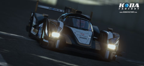 Atlantic Motorsport Oreca Nissan #42 finished P5 in the 6 hours of Fuji