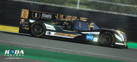 Atlantic Motorsport Oreca Nissan #42 finished P9 in the 8 hours of Silverstone