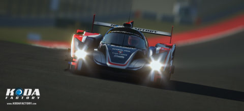Atlantic Motorsport Oreca Nissan #32 finished P4 in the 1000 miles of Indianapolis
