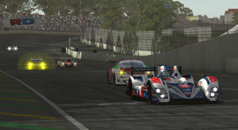 3rd place for Atlantic Motorsport in Prototype Standings in RD Le Mans Series by Vesaro