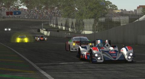 3rd place for Atlantic Motorsport in Prototype Standings in RD Le Mans Series by Vesaro