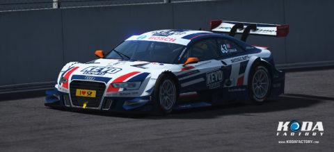 Atlantic Motorsport presents the new Kevo eSports Atlantic Motorsport Audi RS5 DTM