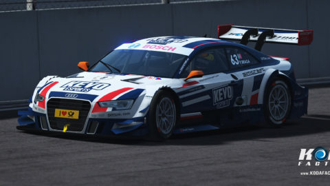 Kevo eSports Atlantic Motorsport Audi RS5 DTM