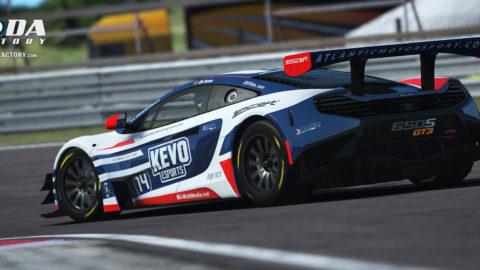 Kevo eSports Atlantic Motorsport McLaren 650s GT3