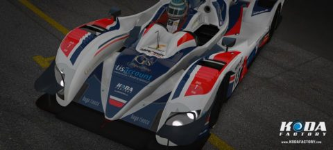3rd Place for Atlantic Motorsport on the RaceDepartment LMS by Vesaro