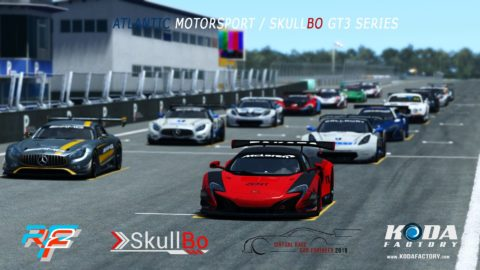 Matthieu Decrop won the first round at Estoril-Virtual Race Car Engineer GT3 SkullBo Championship