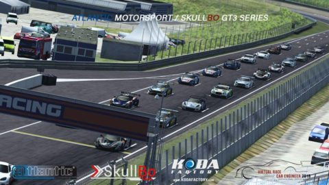 Borja Millan won the second round at Zandvoort-Virtual Race Car Engineer GT3 SkullBo Championship