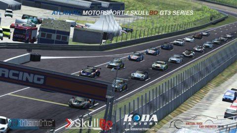 Borja Millan won the second round at Zandvoort-Virtual Race Car Engineer GT3 SkullBo Championship