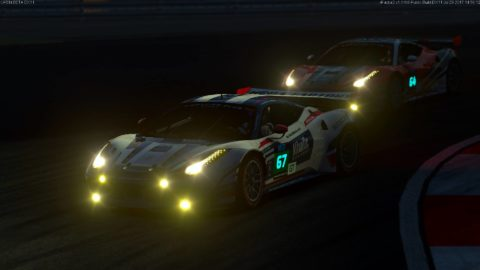 Atlantic Motorsport Ferrari F458 #67 finished P5 in the 12 hours of Istanbul