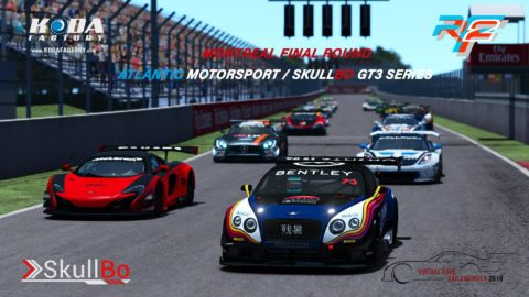 Felix-Antoine Fortin won the fifth round at Montreal-Virtual Race Car Engineer GT3 SkullBo Championship