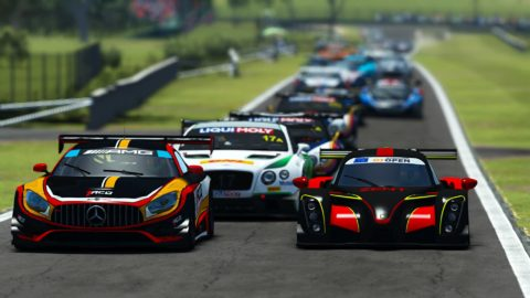 Nico Barclay won the first race of Season 2 of the Atlantic-SkullBo GT3 at Bathurst