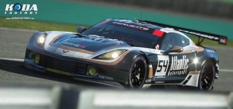Atlantic Motorsport present the URR Corvette C7 GTE #54