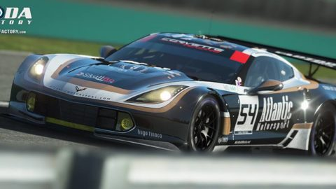 Atlantic Motorsport present the URR Corvette C7 GTE #54