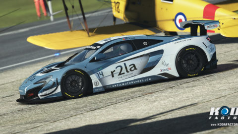 Atlantic Motorsport presents the new r2la McLaren 650S GT3 Nibo