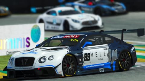Yuri Kasdorp won the 4th race of Season 2 of the Atlantic-SkullBo GT3 at Sao Paulo