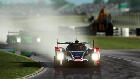 Atlantic Motorsport Oreca Nissan #32 finished P9 in the 8 hours of Silverstone