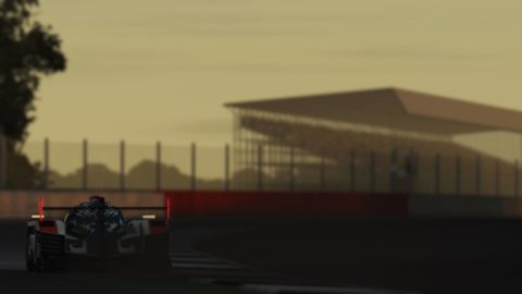 Atlantic Motorsport Porsche 919 #002 finished P8 in the 8 hours of Silverstone