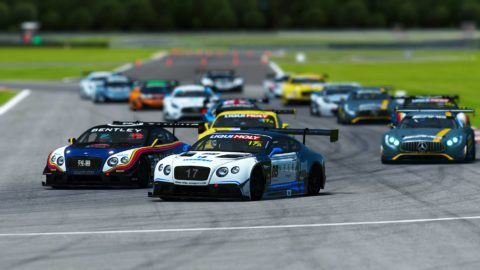 Yuri Kasdorp won the 5th race of Season 2 of the Atlantic-SkullBo GT3 at Nola
