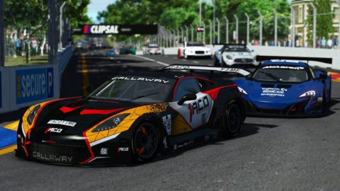 Danny ter Maten won the 2nd race of S3 of the Atlantic Motorsport GT3 Championship at Adelaide