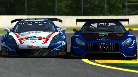 Yuri Kasdorp won the 1st race of S3 of the Atlantic Motorsport GT3 Championship at Road Atlanta
